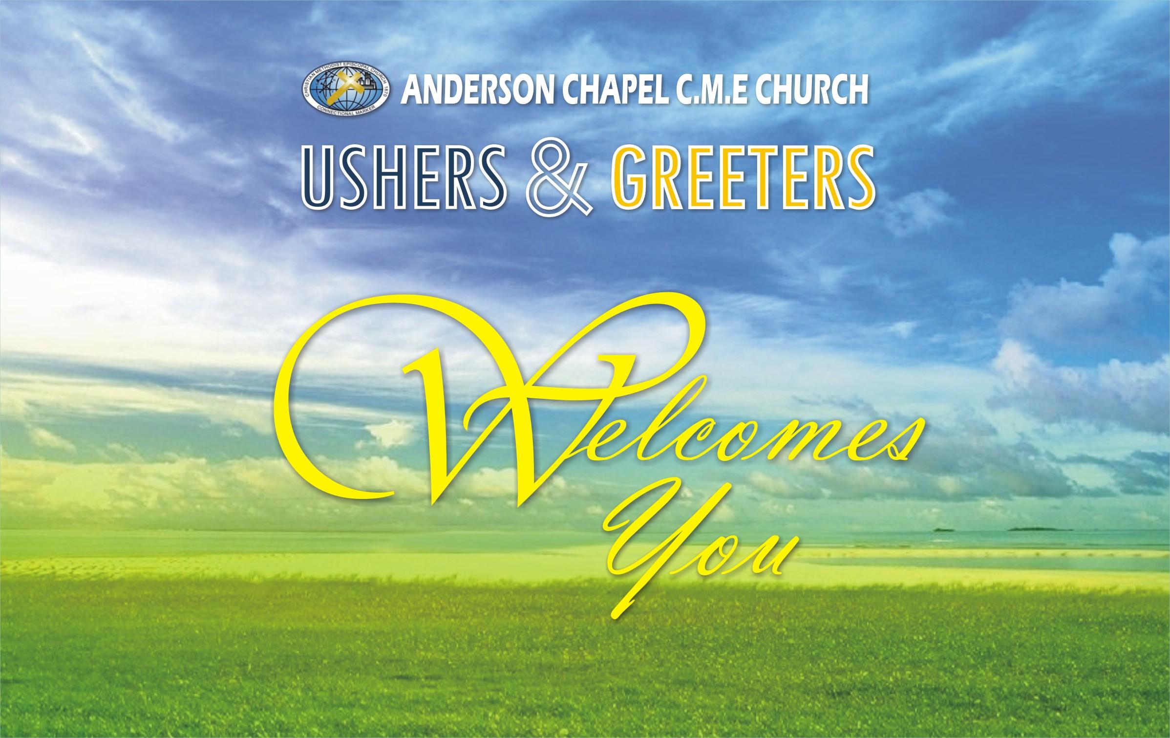 ushers greeters